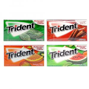 Kẹo gum không đường Trident Mỹ (14 tép)