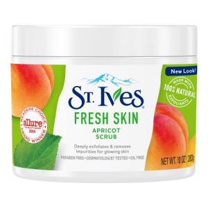 Tẩy da chết toàn thân STives Fresh Skin Apricot Scrub 283g