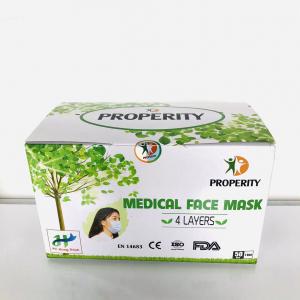 Khẩu trang y tế kháng khuẩn 4 lớp Properity 50 cái/ hộp