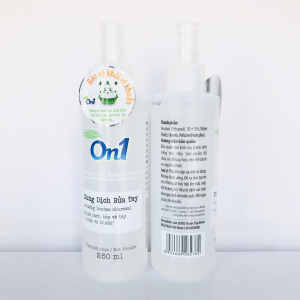 Dung dịch rửa tay sát khuẩn nhanh On1 250ml  (hương Bamboo Charcoal)