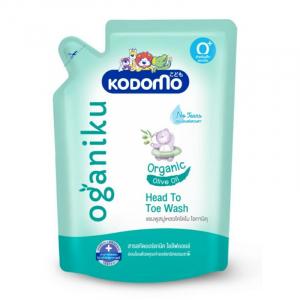 Dầu tắm gội trẻ em Kodomo Head to toe Oganiku 380ml