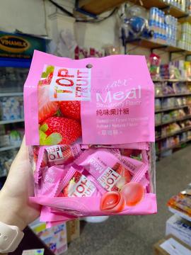 Kẹo dẻo Top Fruit 320g hương dâu