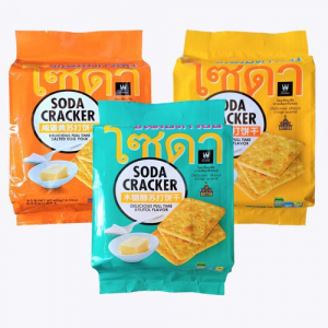 Bánh qui mặn Soda Carcker Thái Lan 400g