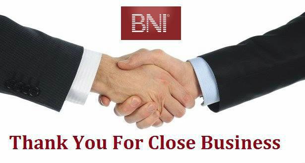 Lời cảm ơn cho một cơ hội kinh doanh thành công