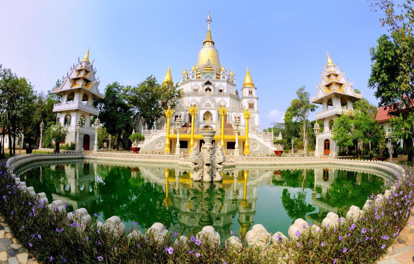 Chùa Bửu Long- Ngôi chùa không nhang khói lớn nhất Sài Gòn