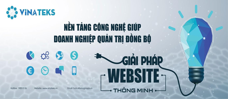 GIẢI PHÁP WEBSITE THÔNG MINH VINATEKS