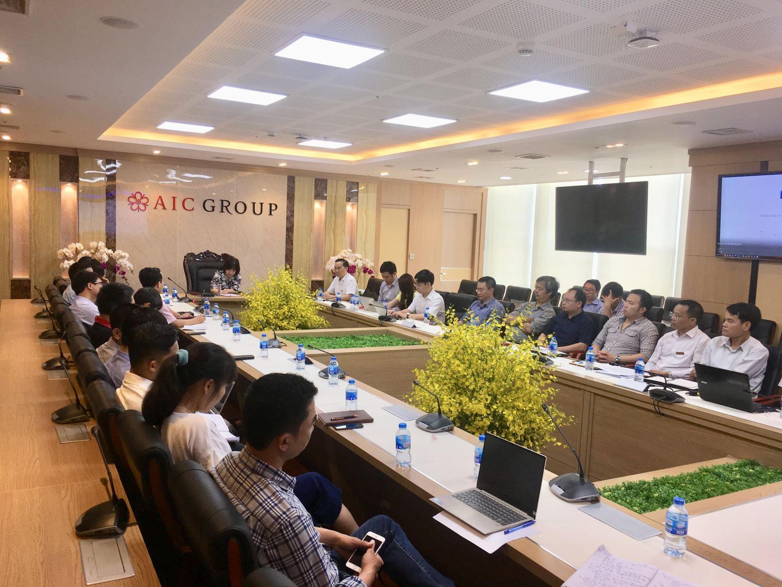 Viện Công nghệ thông tin phối hợp với Công ty Cổ phần tiến bộ quốc tế AIC
