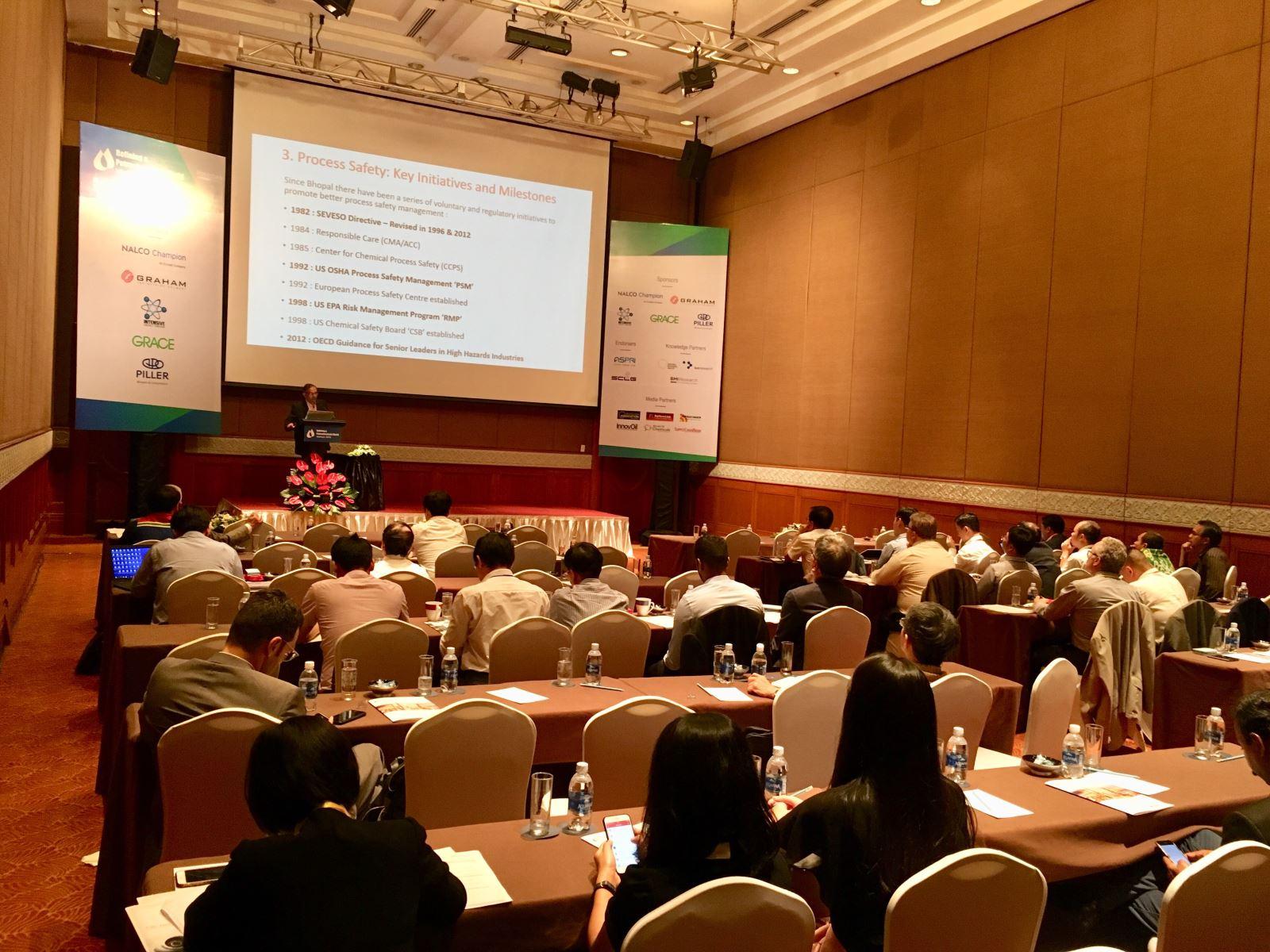 Viện Công nghệ thông tin tham dự Hội nghị Lọc – Hóa dầu thế giới năm 2018 tại Việt Nam.