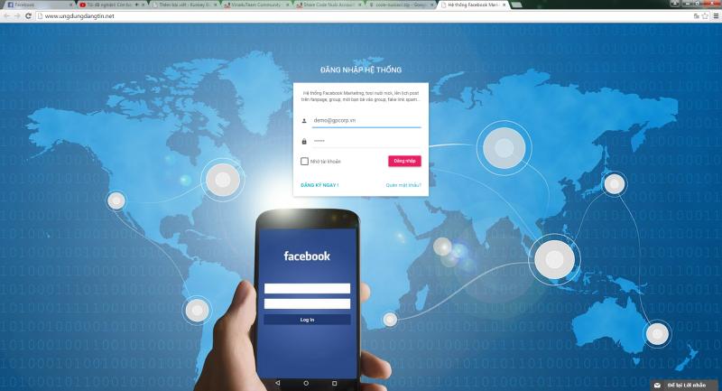 Phần mềm Nuôi Account Facebook